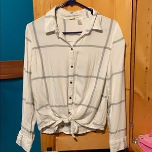Roxy button down shirt
